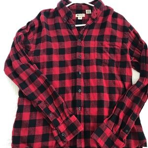 Haggar buffalo plaid flannel